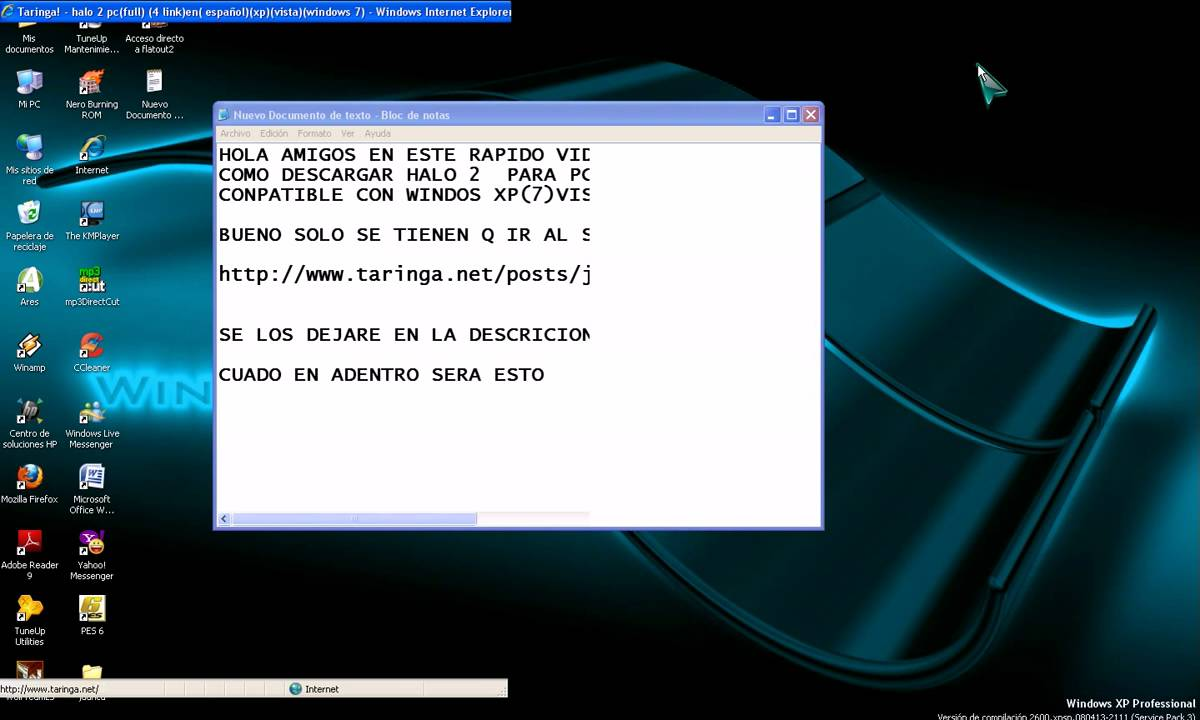 descargar halo 2 para windows xp