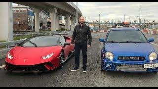 DT_LIVE. 700 л.с. Subaru Impreza vs Lamborghini Huracan. DragTimes info video - Драгтаймс инфо видео.