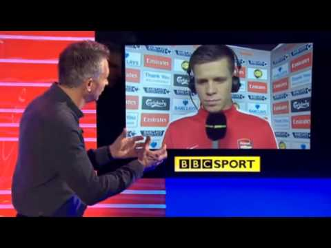 Arsenal 2 Fulham 0 : Wojciech Szczesny Post Match Reaction