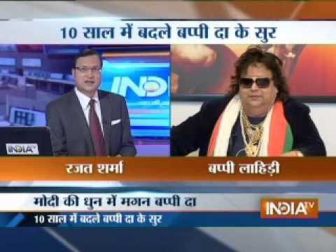 Bappi Lahiri speaks to Rajat Sharma in Aaj Ki Baat