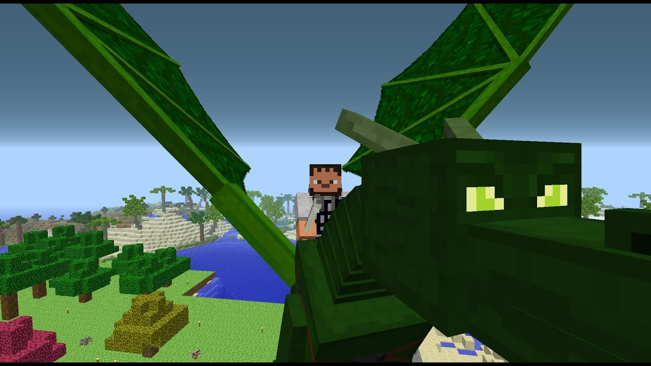 how to train your dragon minecraft mod 1.12