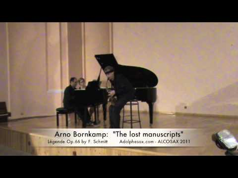 "ARNO BORNKAMP: ""The lost manuscripts"" (Full concert) 51′"