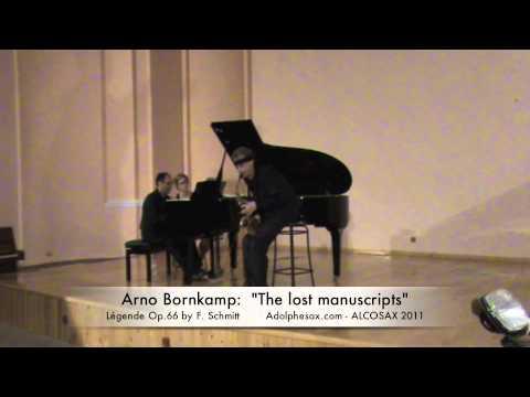 "ARNO BORNKAMP: ""The lost manuscripts"" (Full concert) 51′"