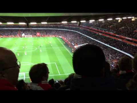 Ohh Santi Cazorla chant - Arsenal vs Liverpool
