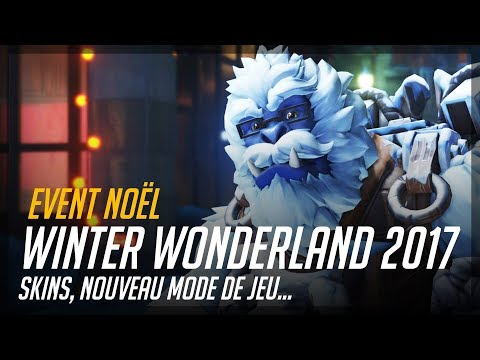 EVENT NOËL OVERWATCH | WINTER WONDERLAND 2017