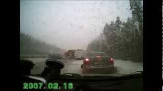 Подборка ДТП с видеорегистраторов 78 \ Car Crash compilation 78