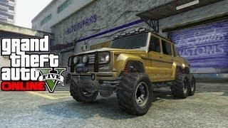 "GTA 5 Online ""Benefactor Dubsta"" Car Customization"