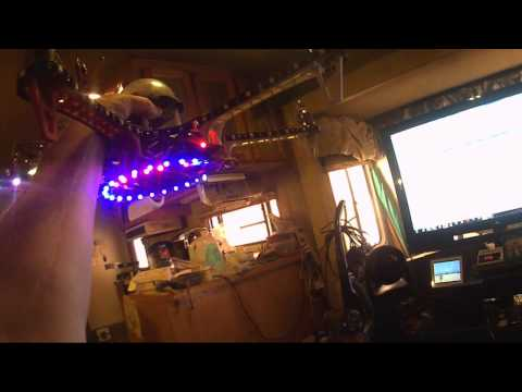 Flame Wheel 550 Hex With New Lights and Sequencer