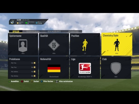 FIFA 17 mit Pack opening