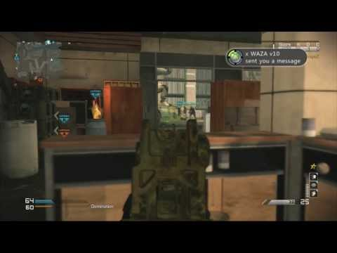 COD Ghosts: SOLO Gold Honey Badger KEM :: KEM With Every Gold Gun