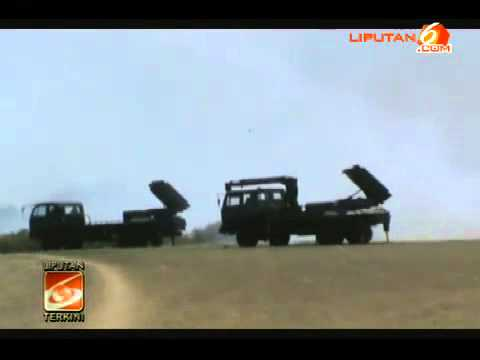Berita Video : Peluncuran Roket Lapan Di Garut