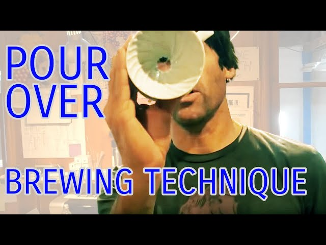 Pour-Over Brewing Technique