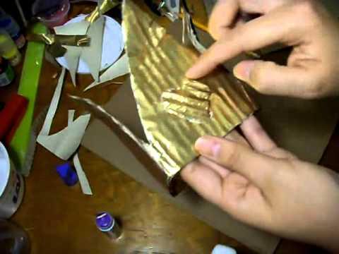 como hacer la corona - YouTube