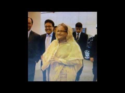 Sarwar Hussain with Bangladeshi dictator Sheikh Hasina!
