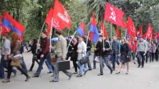"""Câteva zeci de comuniști îndeamnă la """"revoluție"""""""