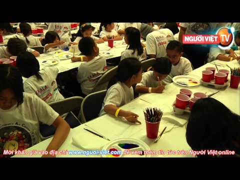 Cuộc Thi vẽ Trung Thu tại Nhật báo Người Việt