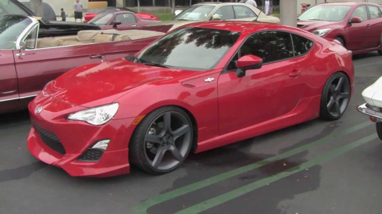 Tricked Out Scion Tc >> Scion FR-S With Five Axis Design Mods - YouTube