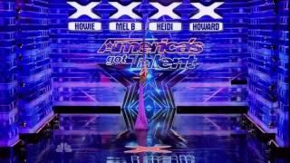 America's Got Talent 2014 Auditions Laura Dasi [FULL