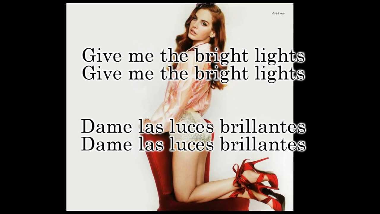 Lana Del Rey - Brite Lites (Lyrics Sub. Spanish/Español ...
