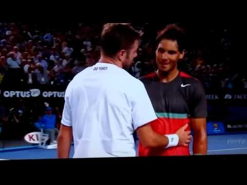 Stan Wawrinka wins the Australian Open 2014