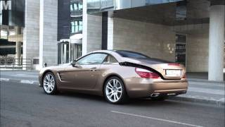 Mercedes-Benz; SL-Class - Driving Scenes videos