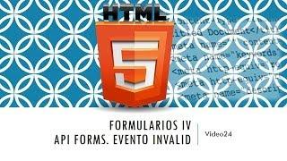 Curso de HTML 5. Parte 24