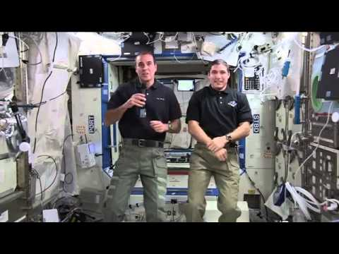 Space Station Crew Discusses Life in Space With NBC News.