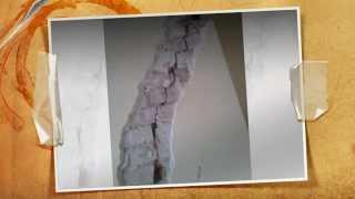 Reparar grieta en pared en forma profesional