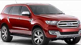 2015 Ford Everest Preview-Ranger SUV-Futura Concorrente Da