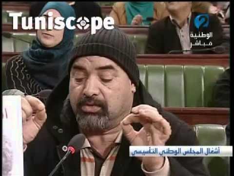 image vidéo ابراهيم القصاص للنواب: ''سأقلب المجلس رأسا على عقب''