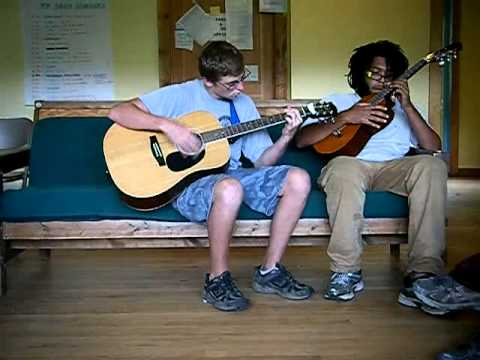 Tamarack Farm 2011: Isaiah and SummerBear Music Jam #1