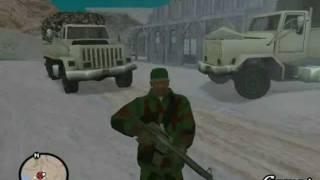CJ Es Reclutado A Dar El Servicio Militar 3/3 Gta San