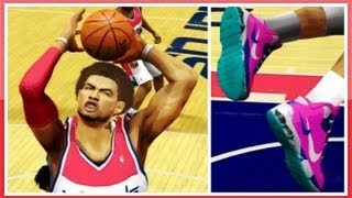 NBA 2K14 How To CREATE Your Own Signature Shoe In NBA