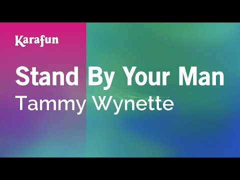 Karaoke Stand By Your Man - Tammy Wynette *