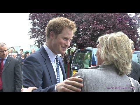Suffolk Show 2014   HRH Prince Harry's Royal Visit   Receiving Line, Speech and Taking The Colours