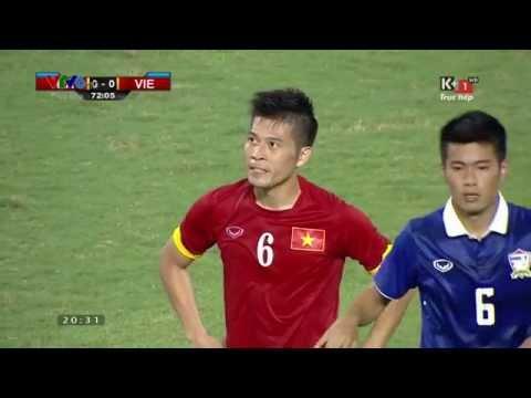 Thái Lan - Việt Nam (1-0) Những pha bóng xấu xí [full hd]