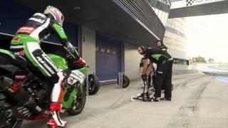 Kawasaki Superbike Pitstop Videosu - Go begins with Stop