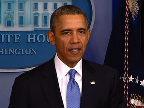 Obama says U.S. will