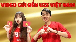 CrisDevilGamer và Mai Quỳnh Anh VIDEO GỬI ĐẾN U23 VIỆT NAM