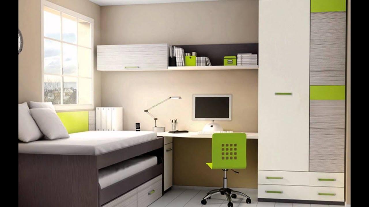 Habitaciones juveniles muebles modernos camas nido compactos literas youtube - Muebles juveniles modernos ...