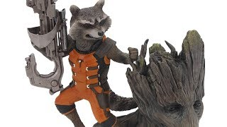 Rocket Raccoon ArtFX+, Bishoujo Starfire, Batman Li'l Gotham Figures, more!