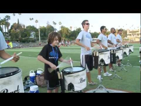 12 Year Old Joins Drum Line