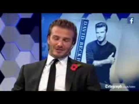 "David Beckham: "" I won't be negative about Sir Alex Ferguson """