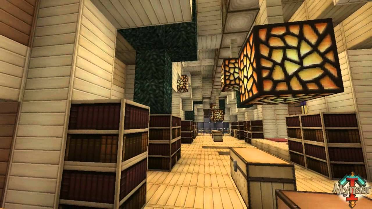 Minecraft Modern House Interior Talkthrough YouTube