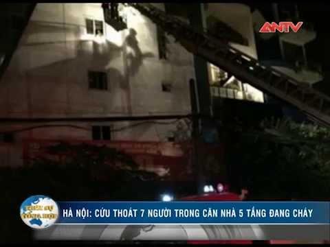 Hà Nội lại cháy lớn trong đêm, 7 người trong gia đình