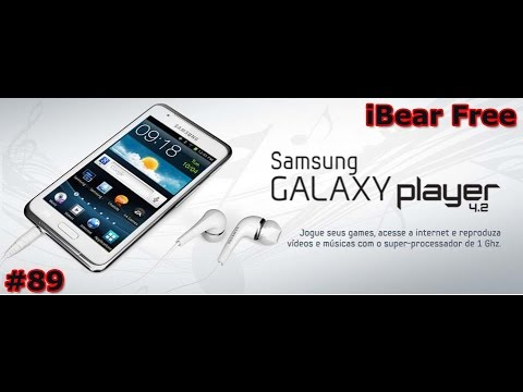 Samsung Galaxy Player 4.2 - APP iBeer Free (programa inútil) - PT-BR - Brasil