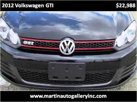 2012 Volkswagen GTI Used Cars Pittsburg PA