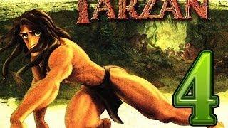 Tarzan-серия 4 [Убегаем от бабуинов.Громим л