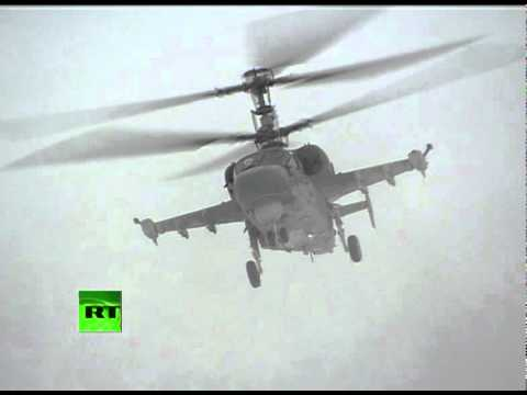 Video of Russian Kamov Ka-52 'Alligator' first demo flight