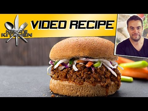 SLOPPY JOES - Nicko's Kitchen